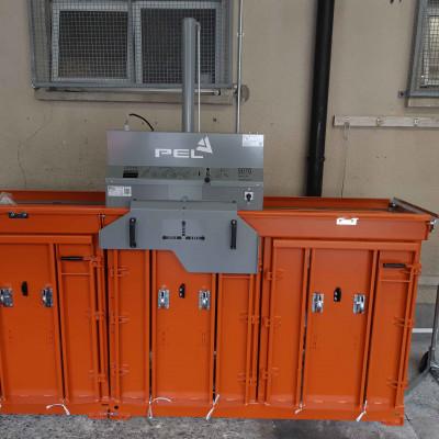 Orwak 5070 Dual Chamber Baler Installed by PEL Waste Reduction Equipment in Hotel Kilmore Cavan - October 2020